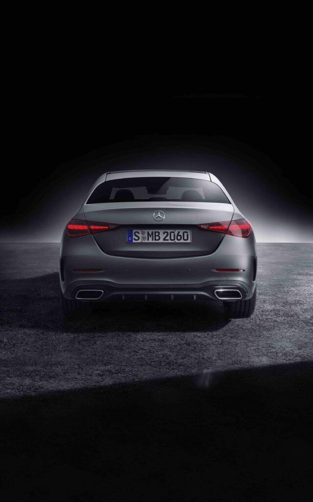 Mercedes-Benz C-Klasse, 2021, Selenitgrau magno, Leder zweifarbig Sienabraun/Schwarz   Mercedes-Benz C-Class, 2021, selenite grey magno, siena brown/black leather